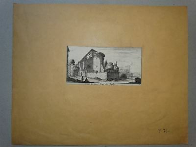 Rom Roma Kirche San Giovanni Altmeister - Kupferstich engraving Silvestre 1650