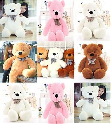 Large bear 60/100/120/140cm Teddy Bear Giant Teddy Bears Big Soft Plush Toys -4