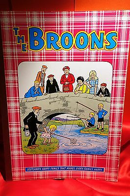 Vintage 1969 The Broons annual ,Sunday Post comic strip , D C Thomson & Co VGC