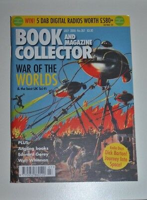 Book Collector # 257 July 2005 - War of the Worlds / UK Sci-fi, Walt Whitman