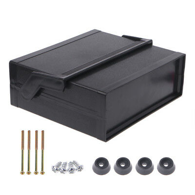 Waterproof Plastic Electronic Enclosure Project Box Black 200x175x70mm