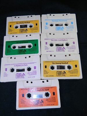 9 Worlds of Wonder Talking Mickey Mouse Cassette Tapes Tested & Working