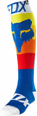 Fox Racing Coolmax Thin Draftr Mens MX Offroad Socks Blue