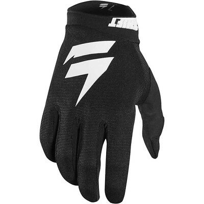 Shift White/Whit3 Label Air Youth MX Offroad Gloves Black