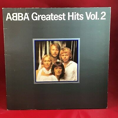 ABBA Greatest Hits Vol. 2 1979 UK Vinyl LP + INNER EXCELLENT CONDITION volume a