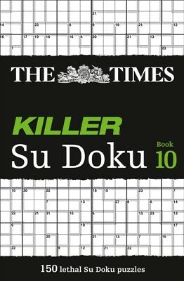 The Times Killer Su Doku Book 10 (Paperback), The Times Mind Game...