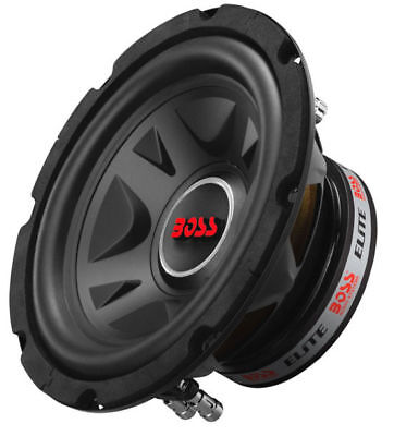 "BOSS ELITE BE8D 600 Watt 8"" Inch Dual 4-Ohm Car Truck Bass Audio Subwoofer Sub!"