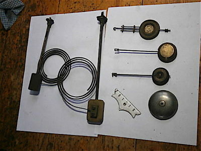french clock bits  and french pendulums