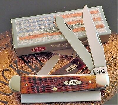 Case Tested XX 1920-1964 Antique Stamp Series Trapper Knife 2016 SFO MIB NR
