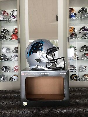 NFL Football Full Size Speed Helm CAROLINA PANTHERS Riddell neu & OVP