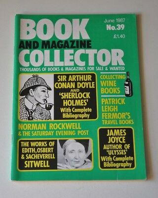 Book Collector June 1987 # 39 - Conan Doyle, James Joyce, Norman Rockwell, Wine