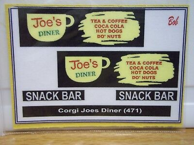 Corgi Joe's Diner (471) sticker (S B)