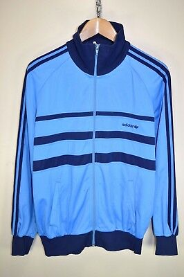vtg 80s ADIDAS FIRST OG RARE TRACK JACKET TRACKSUIT TOP CASUALS size D50 MEDIUM