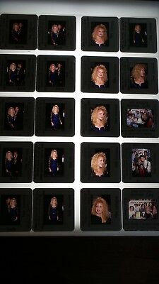 Tina Yothers W/ Celebrities Vintage Lot Of 35Mm Slide Transparency Photo #5