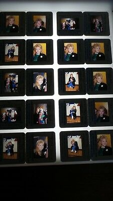 Tina Yothers W/ Celebrities Vintage Lot Of 35Mm Slide Transparency Photo #2