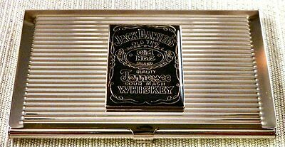 Jack Daniel's Whiskey Business Card Case