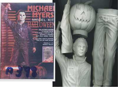 "18""michael Myers Halloween Horror Thriller Movies Vinyl Model Kit 1/4 1/4"