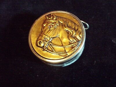 Rare Vintage Horse Relief Sewing Tape Measure Made In Germany