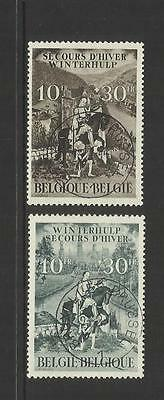 Belgium Belgique Belgie ~ 1943 Winter Relief Fund Set
