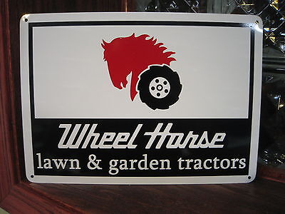 Wheel Horse Garden & Lawn Tractor Garage Mechanic SIGN Advertising Free Shipping