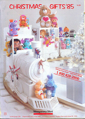Wards 1985 Wish Book For Kids '85  Christmas Toy Catalog