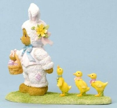 "Cherished Teddies ""easter Parade"" Millie Bunny Chicks #4036071  * Free Shipping"