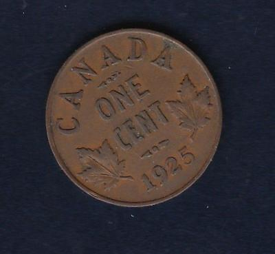 1925 Canada One Cent, better date  inv#9544