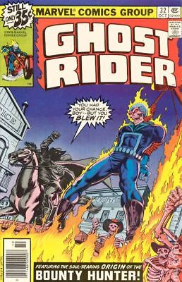 Ghost Rider (1st Series) #32 1978 FN- 5.5 Stock Image Low Grade