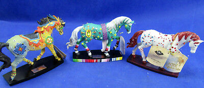 3 NEW Horse of a Different Color Figurine Mexican, Moroccan, & Jewel Westland