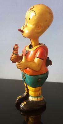 1950's Linemar HENRY EATING CANDY Scarce Tin Wind Up ~ RARE COMIC CHARACTER TOY