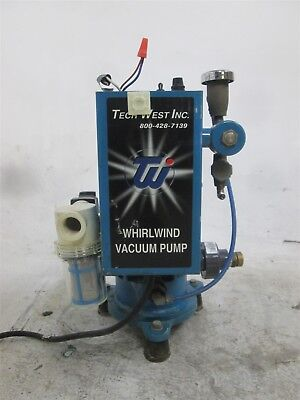 Tech West Whirlwind Dental Vacuum Pump System for Operatory Suction