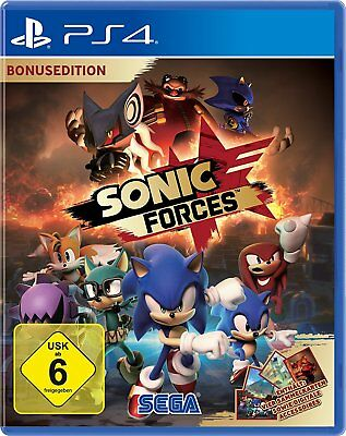SONIC Forces - Bonus Edition PS4 PlayStation 4 NUOVO + conf. orig.