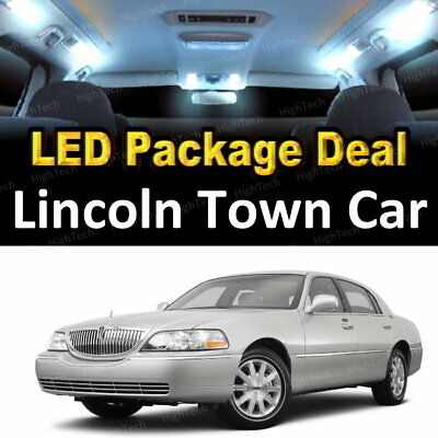 14x White Led Lights Interior Package Deal For 2004 2006 2007