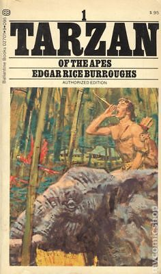 Tarzan Of The Apes by Edgar Rice Burroughs Good 1972 Vintage Paperback