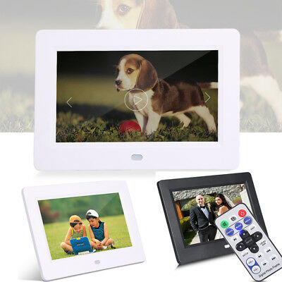 Christmas Gift 7'' TFT Screen Digital Photo Frame Album Picture MP4 Player DH