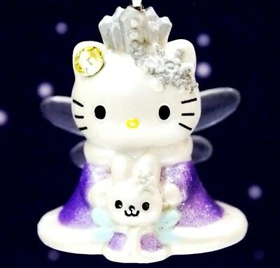 Hello Kitty X Winter Snow Princess Fairy Swarovski Elements Crystals Japan Charm