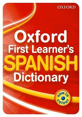 Oxford First Learner's Spanish Dictionary (Paperback), Janes, Mic. 9780199127443