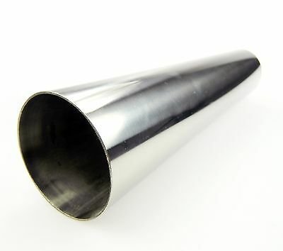 TA TECHNIX End pipe exhaust Stainless Steel Universal 2.99in Round Sharp