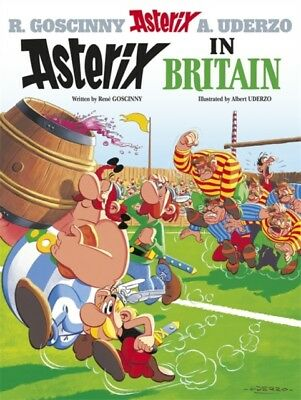 Asterix in Britain: Album 8 (Hardcover), Goscinny, Uderzo, 9780752866185