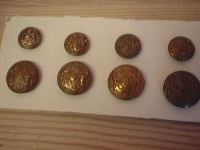 Military. Buttons, General Service,  Ats Full Set