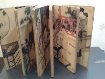 Old  Chinese  Erotic   Folding  Book
