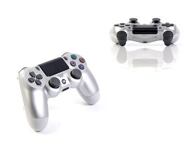 (2016) Sony PS4 Original DUALSHOCK 4 SILBER - Wireless Controller Gamepad V2