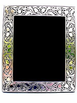 Superb Large Finest 999 Quality Hallmarked Silver London & Britannia Photo Frame