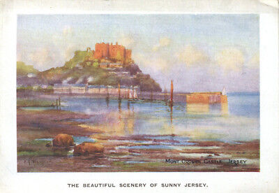 1920s Holiday brochure GRAND HOTEL St Aubin's Bay JERSEY Channel Islands