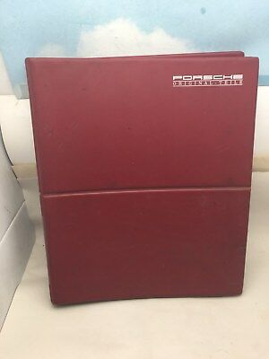 Vtg Original Porsche Factory parts catalogs on Microfiche 911/912/944/924/928 +