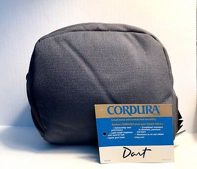 Cordura Nylon Dart Grey Large Reel Case with Line Dispensing Port