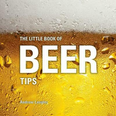 Little Book of Beer Tips by Andrew Langley Hardcover Book Free Shipping!
