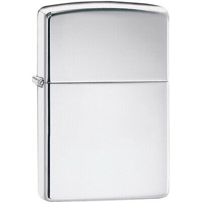 Zippo High Polished Chrome Pocket Lighter