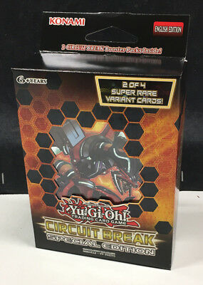 1x YU-GI-OH! Circuit Break Special Edition Booster 3 pack Konami English