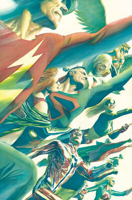 Alex Ross DC JSA Justice Society of America #11 POSTER NEW Rolled & Sealed
